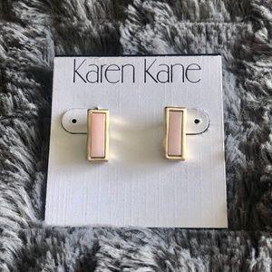 Karen Kane Earrings Rose/Gold OS